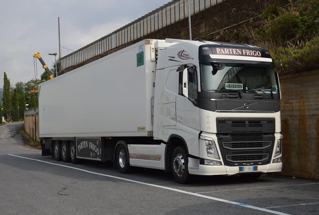 I Parten Frigo Volvo Fh 500 Euro 6 Matte Trucks