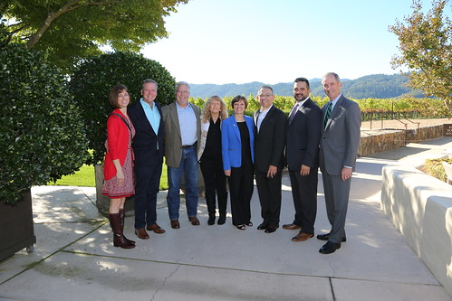 People from USDA APHIS Plant Protection and Quarantine, the California Department of Food and Agriculture, and County agricultural commissioners