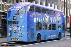 Wrightbus NRM NBFL - LTZ 1097 - LT97 - Half A Sixpence - Notting Hill Gate 390 - Metroline - London - 161203 - Steven Gray - IMG_9173