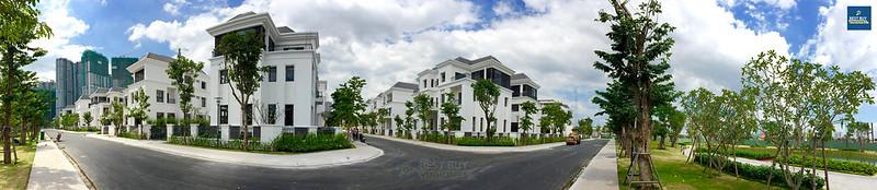 Hình chụp biệt thự The Villas tháng 11/2016. Chỉ còn duy nhất 8 căn biệt thự chờ đón chủ nhân mới!