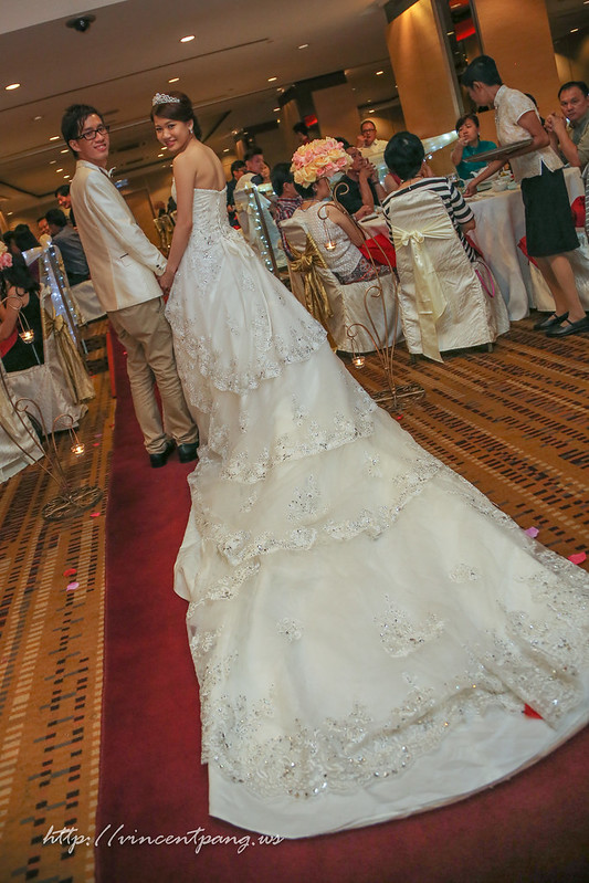 long gown, long wedding gown
