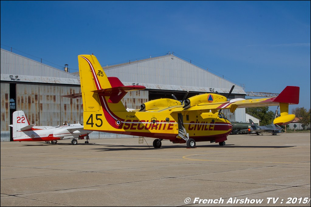 Sécurité Civile, Dash 8 , Canadair CL-415, Tracker, EC-145 , Feria de l'air 2015,BAN Nimes-Garons, Feria de l'air nimes 2015, Meeting Aerien 2015