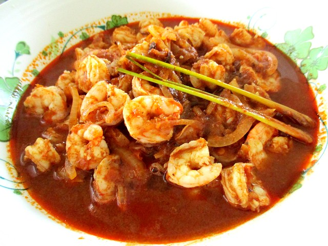 Khadijah Kitchen sambal tumis prawns 1
