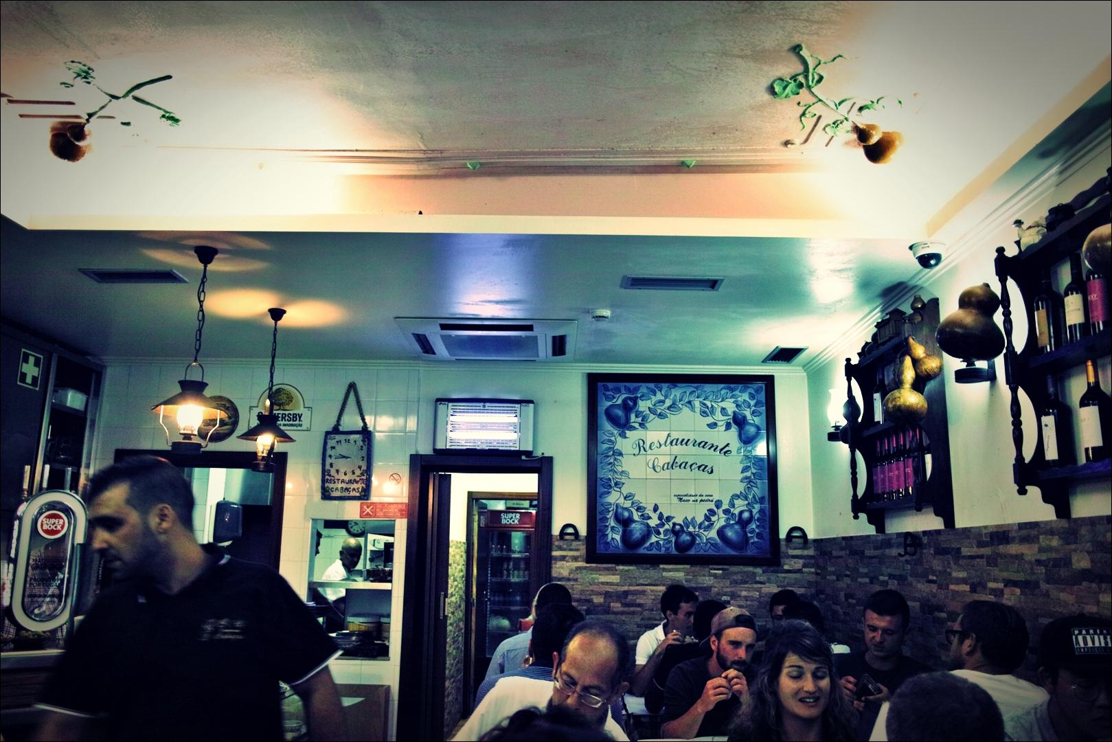 식당 내부-'리스본 카바사스 레스토랑'