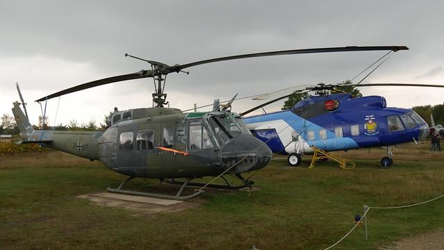 Bell UH-1D Iroquois & Mil Mi-8S