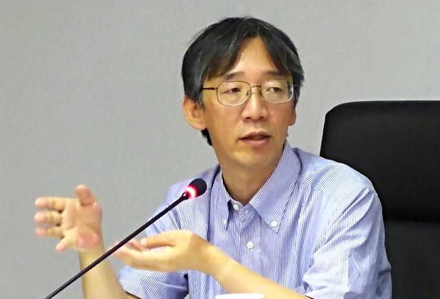 20151110 丸山康司日本能源政策。攝影:陳文姿。