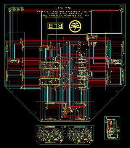 Clock PCB schematic
