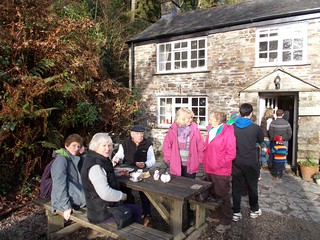 Lostwithiel U3A Walking Group  at Woods cafe