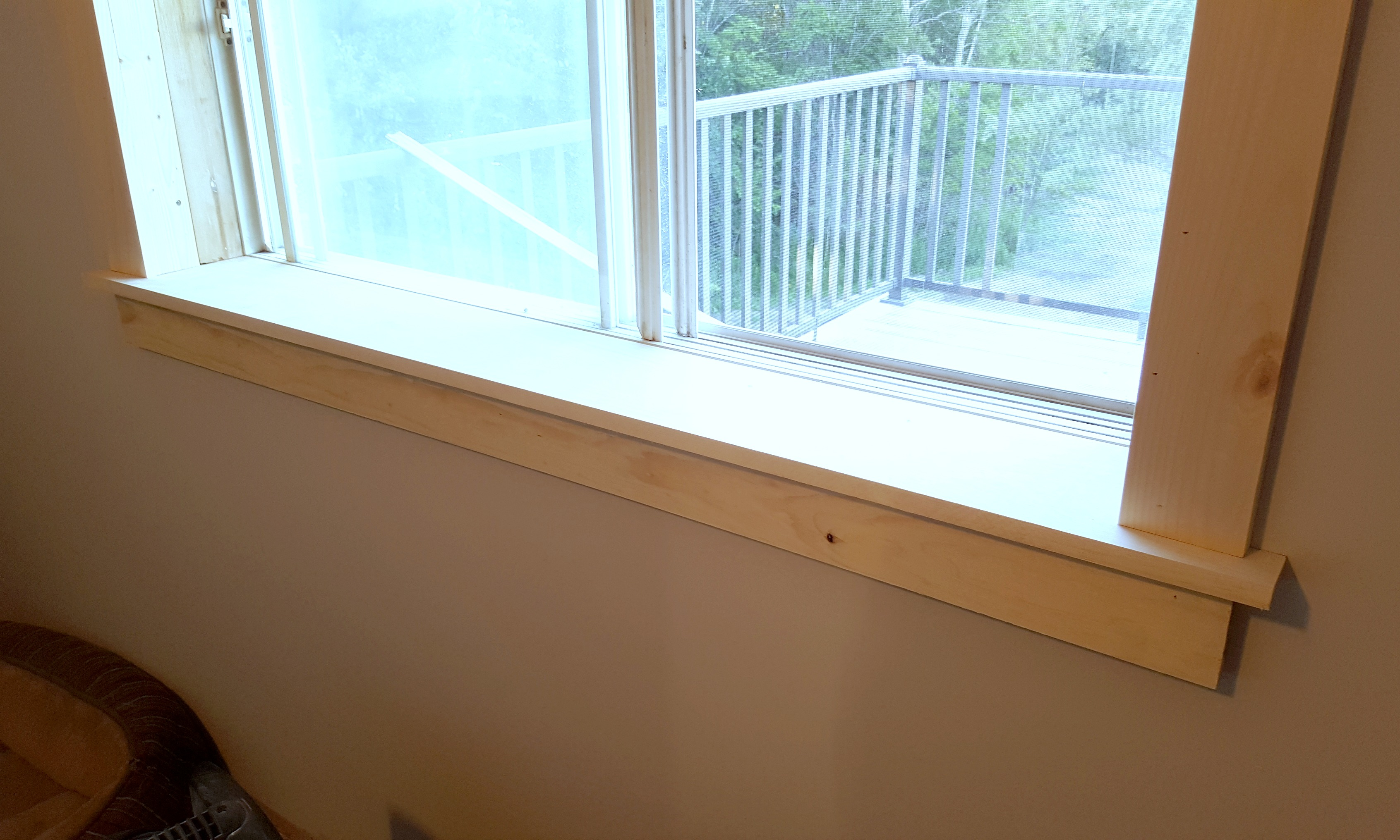 Turtles And Tails Installing Craftsman Style Door Window Trim