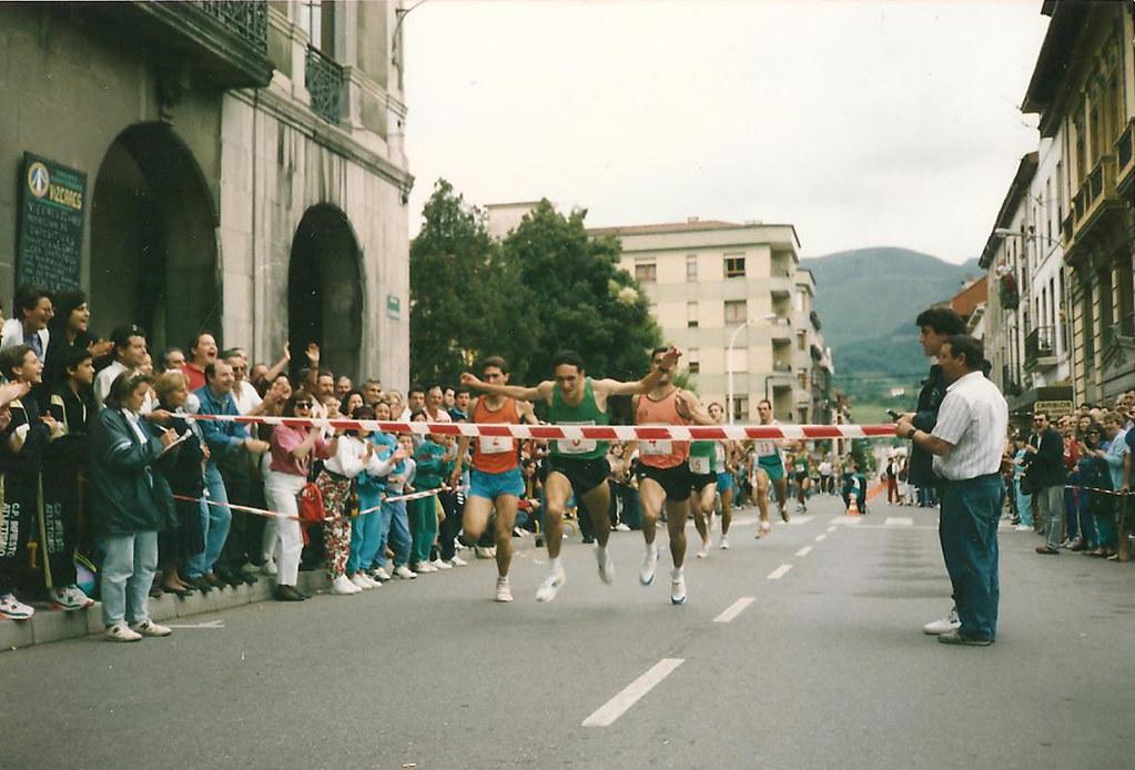 Milla de Infiesto, 1992. Foto 047.