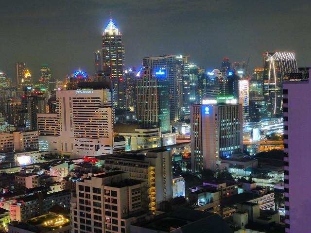 Skyline de Bangkok (Tailandia)