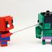Sipderman & Hulk Version Toutouille