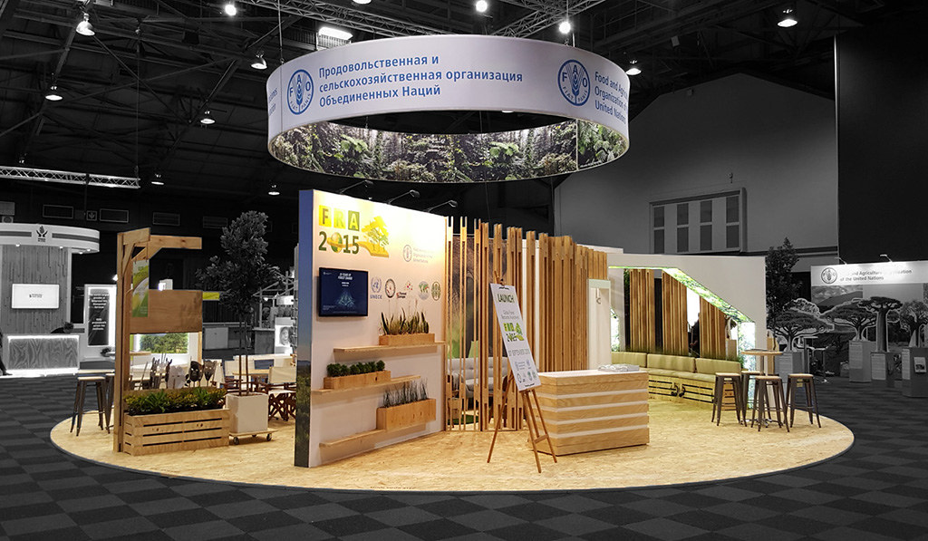 Exhibition Stand Sketchup : Fao pavillion world forestry congress hott d custom s