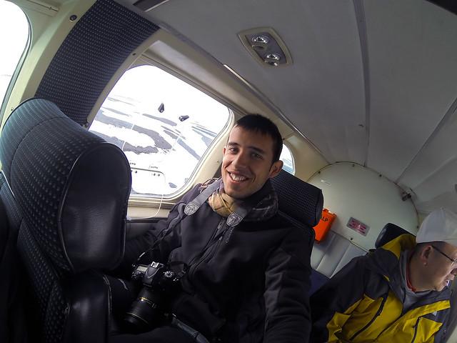 Diario de un Mentiroso en un vuelo en avioneta por Islandia