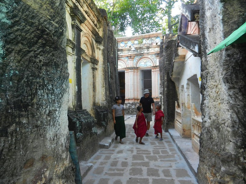 Прогулка по Швеба,Мьянма