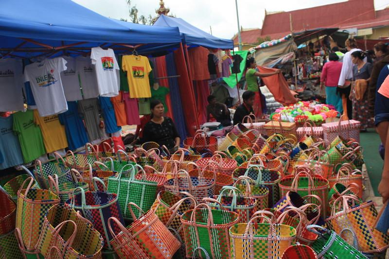 Инле,рыночный день