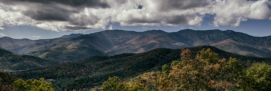 Along the Blue Ridge Parkway, North Carolina