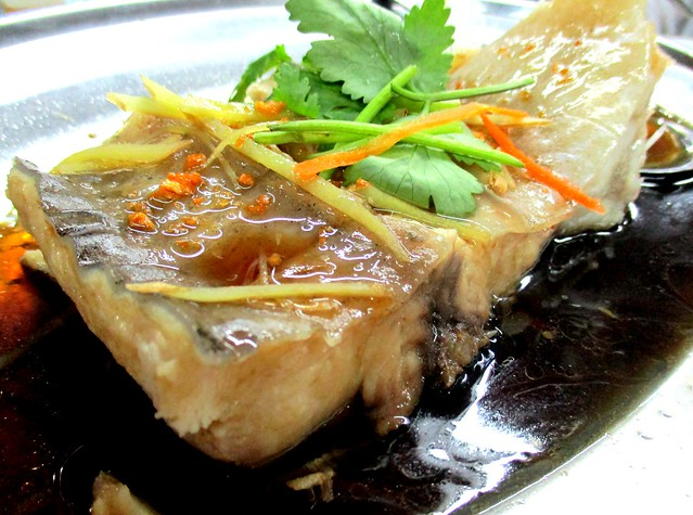 Dragon steamed ikan lajong 3