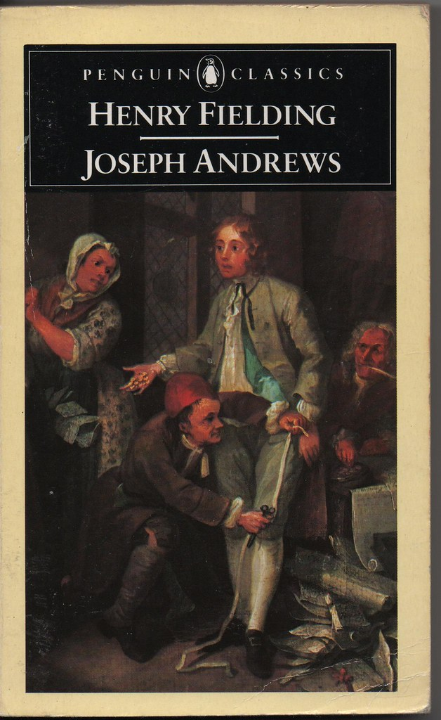 Joseph andrews by henry fielding penguin classics 1985 for Farcical humour in joseph andrews