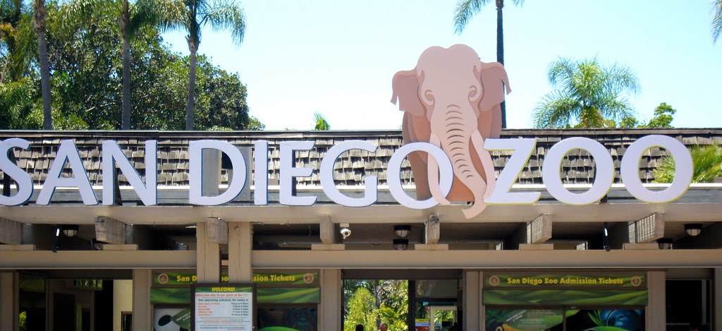 San Diego Zoo - Entrance