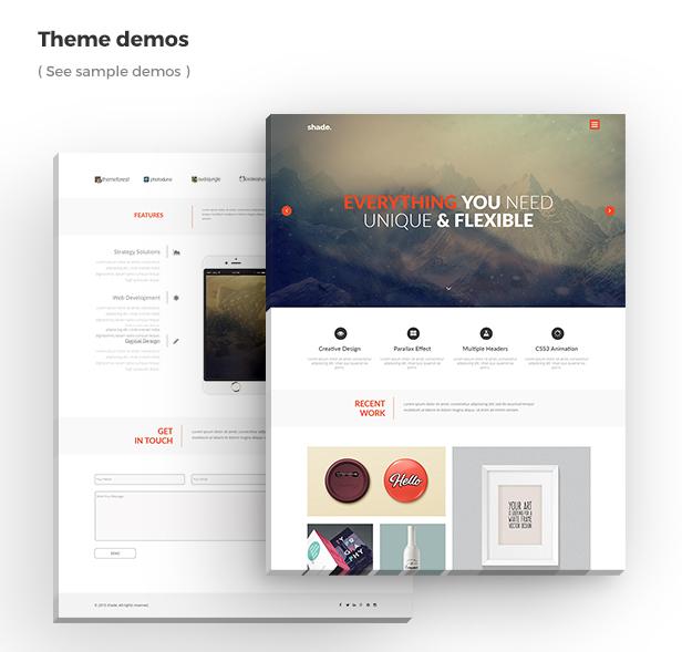 Shade - Creative Template - 2
