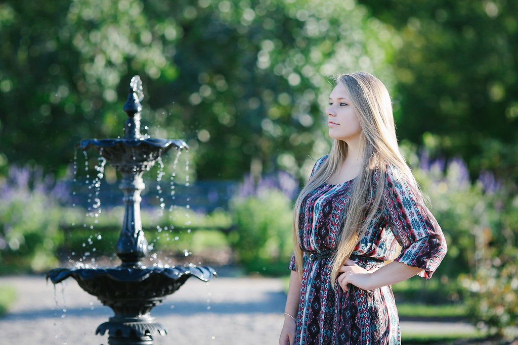 girl senior portrait Photographer lockport