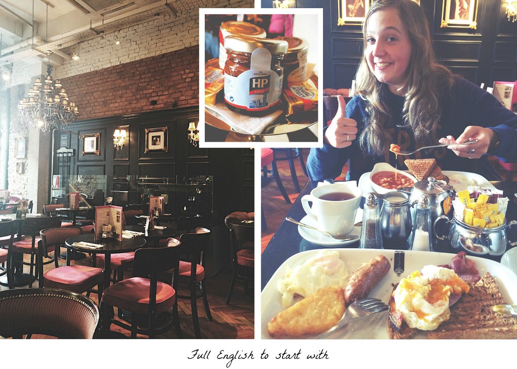 Kick-start your London city trip with a Full English | via It's Travel O'Clock