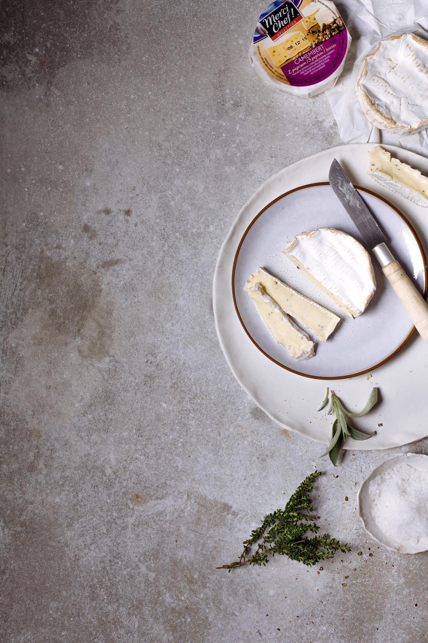 queijo camembert merci chef com pimenta