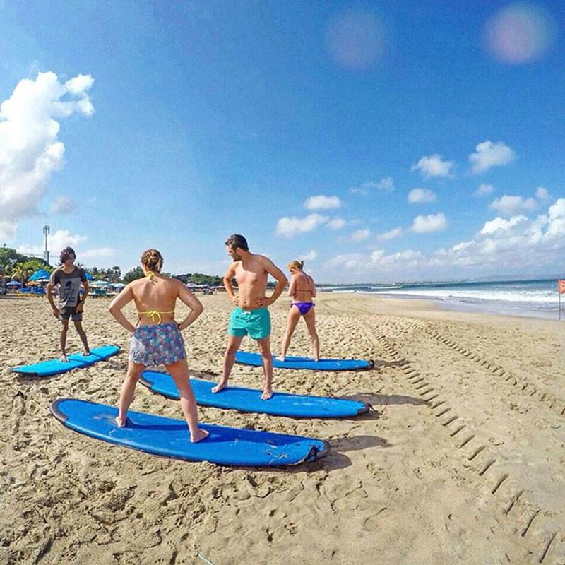 Surf Class at Surf Buddy Bali