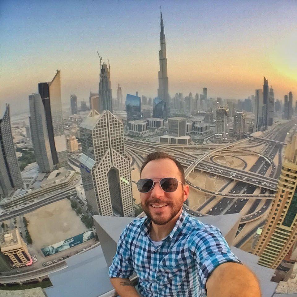Dubai Skyline Sunset Selfie Via Instagram Ift Tt 1gpw5 Flickr