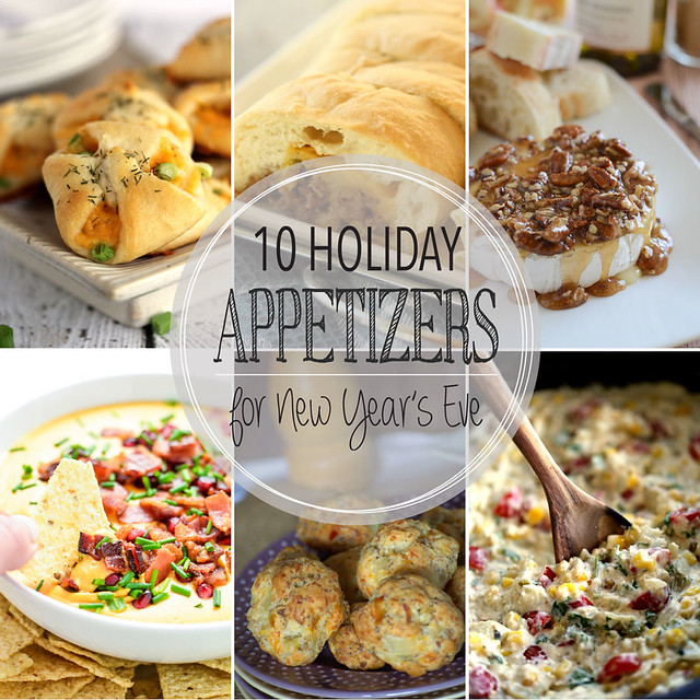 10 Delicious Holiday Appetizers that are perfect for your New Years celebration!