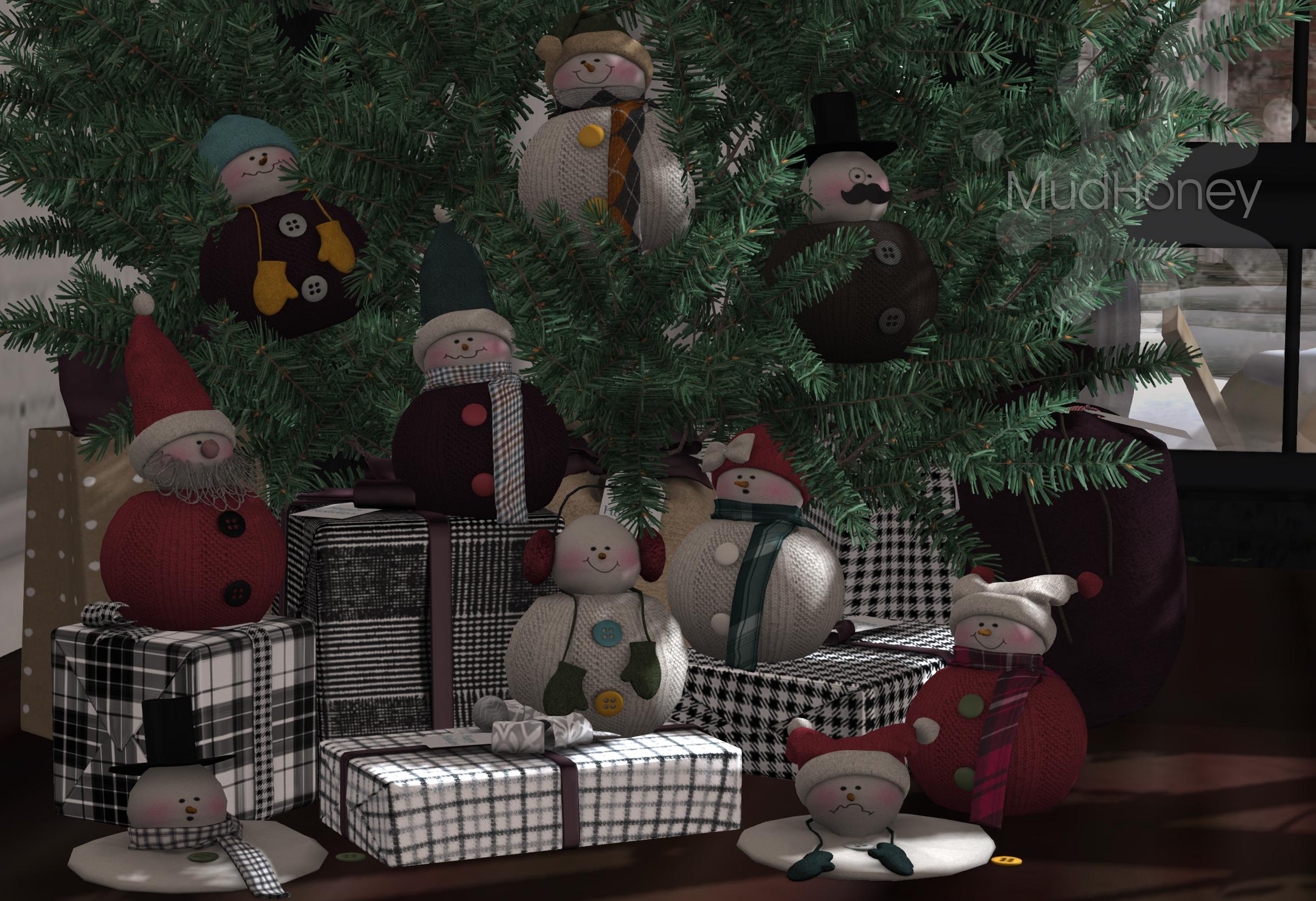 Mudhoney Sock Snowmen Ad