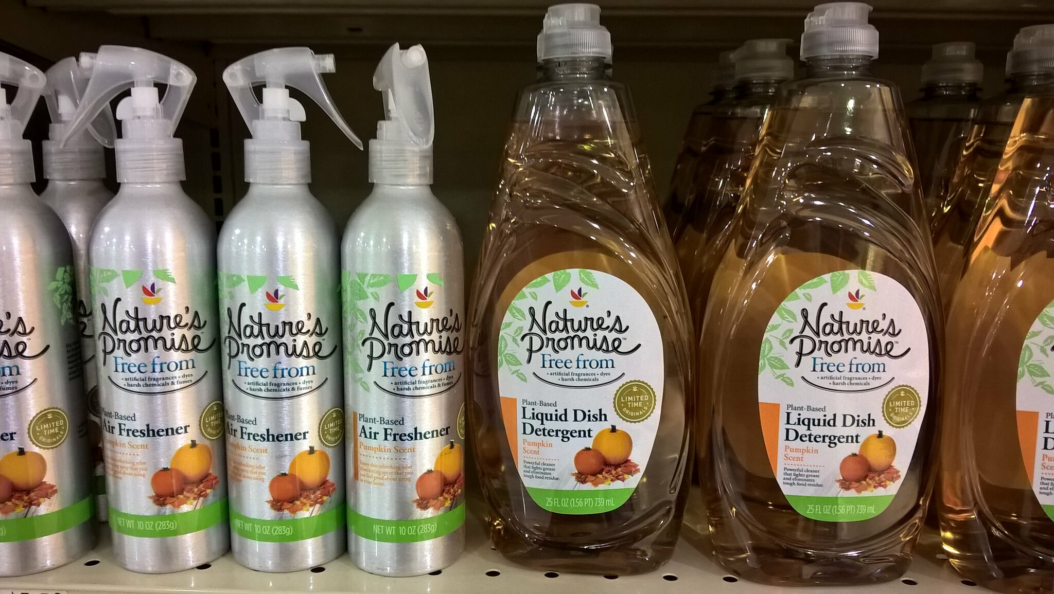 Pumpkin Spice Detergent and Air Freshener