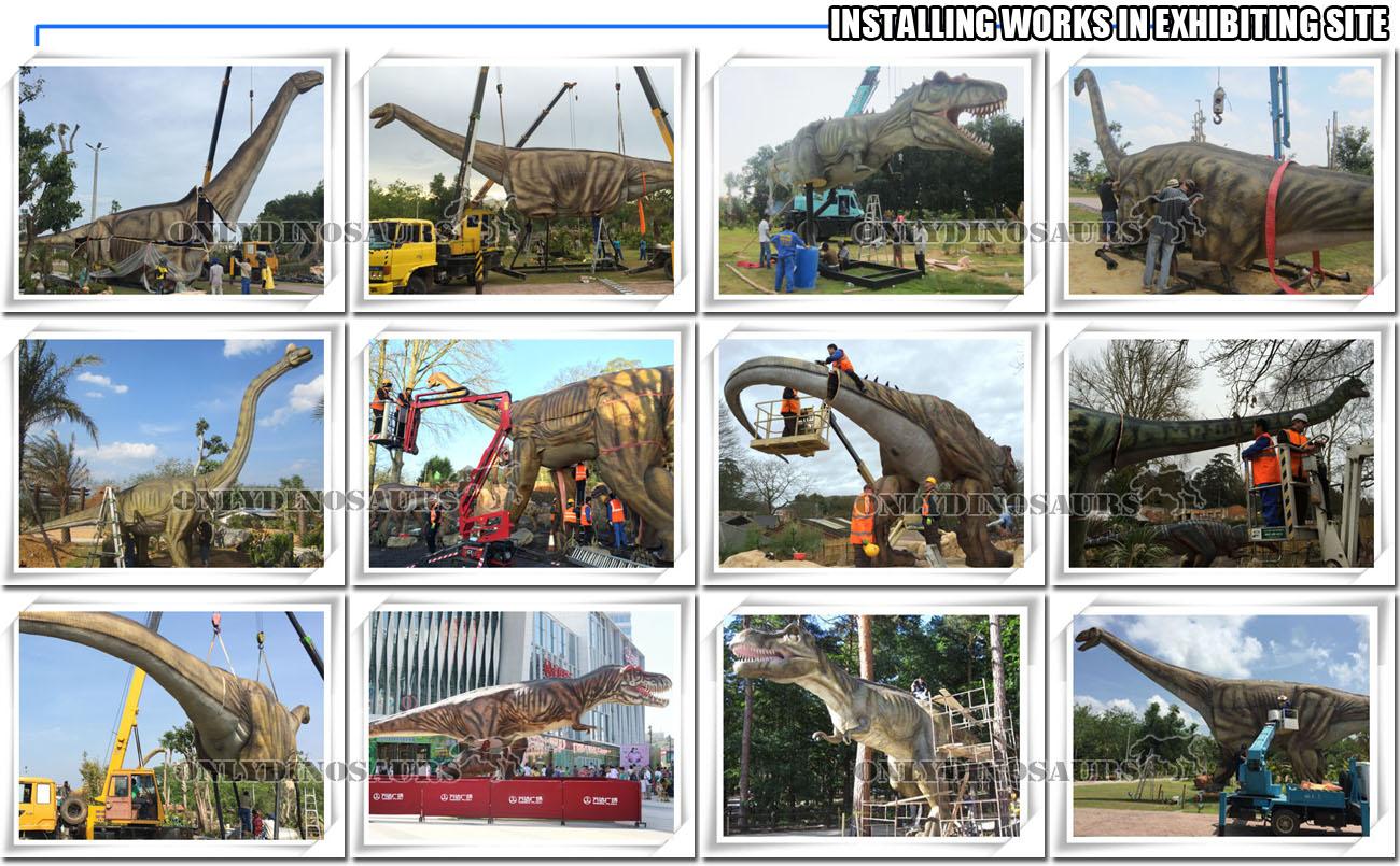 Installing Works for Huge Dinosaurs
