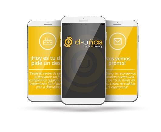 d-Uñas app