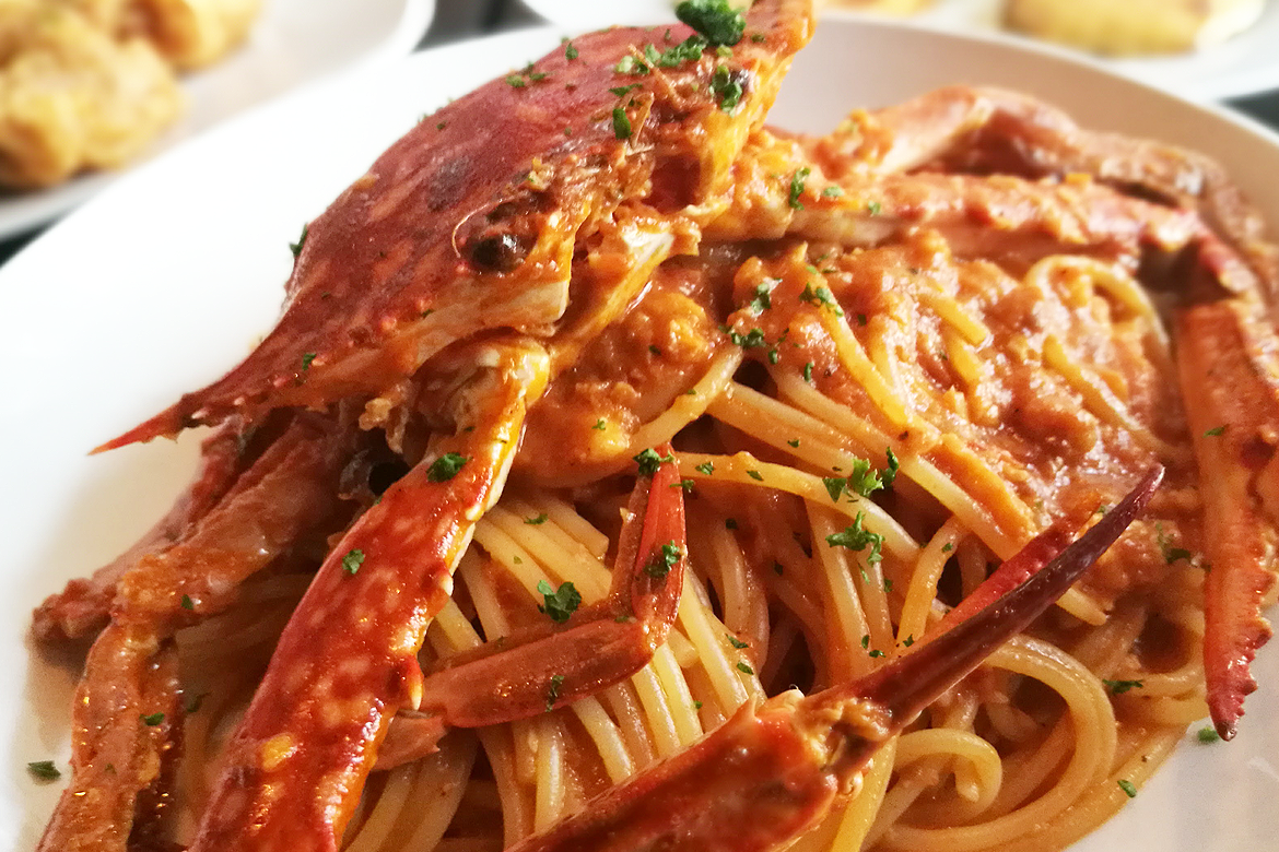 Skillet Japanese Cafe & Bistro - Spaghetti Crab