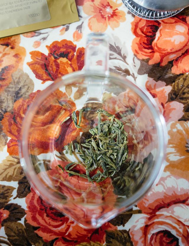 green tea from jing tea