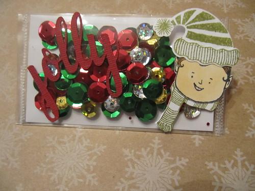 Shaker Gift Card Holder