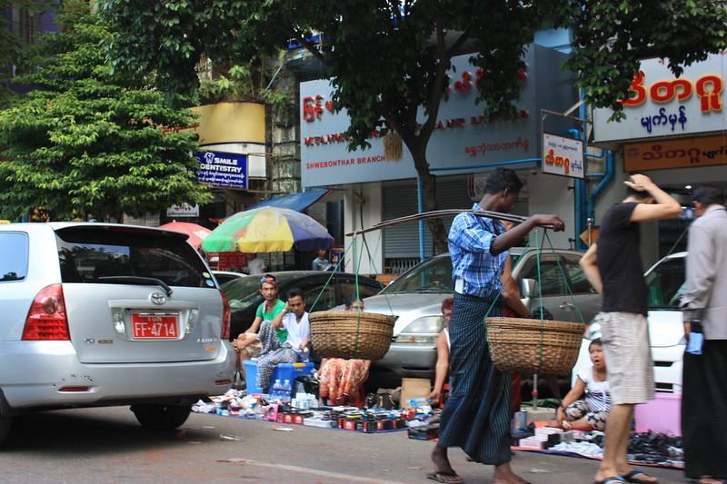 Янгон,жизнь