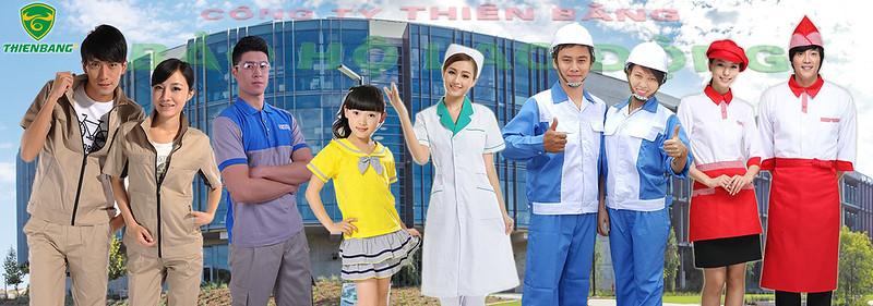 giá quần áo bảo hộ lao động thiên bằng