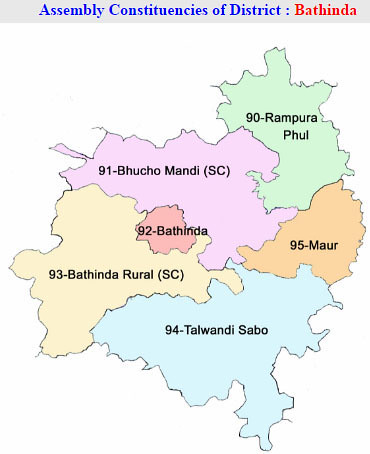 Bathinda district Punjab Election 2017
