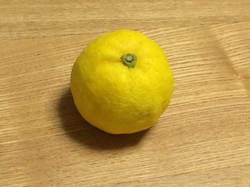 柚子ではなくスダチ