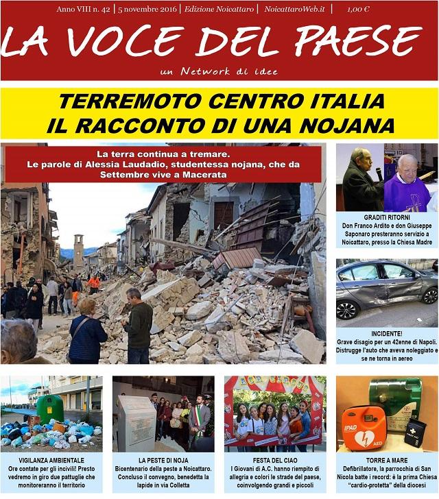 Noicattaro. Prima pagina n. 42-2016 intero