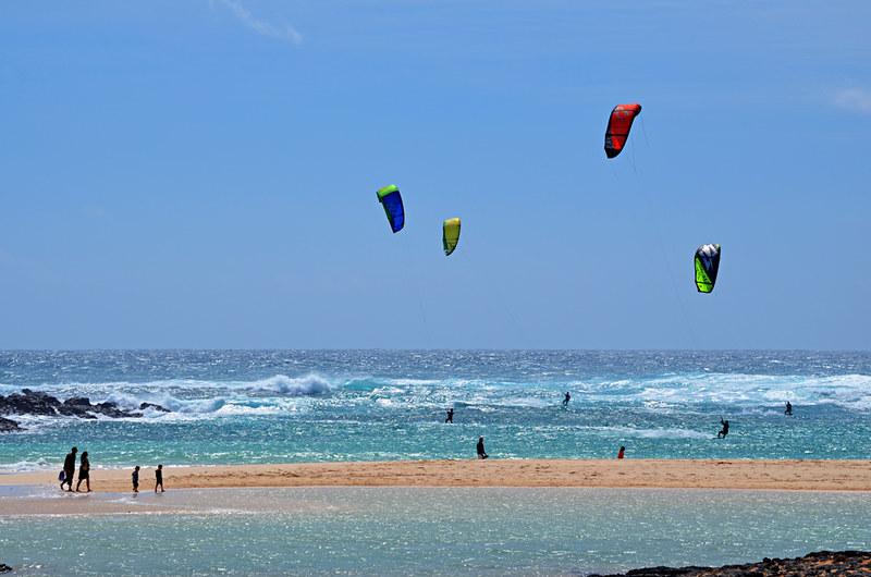 Kiteboarding, El Cotillo, Fuerteventura