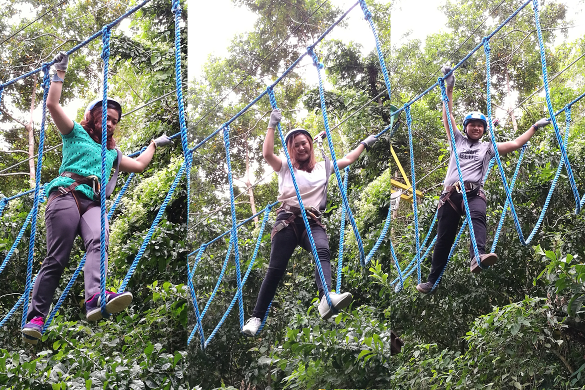 Rope Course Adventure at Mountain View Nature's Park Cebu