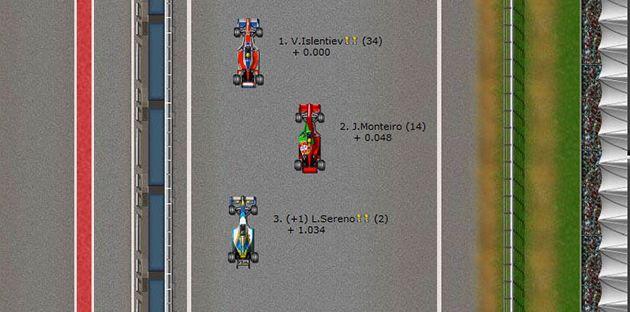 formula 1 browser oyunu