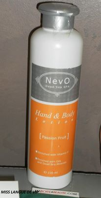 Hand & Body lotion NEVO