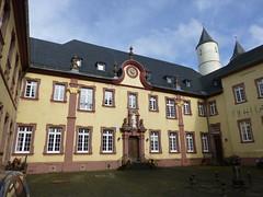 Innenhof im Kloster Steinfeld