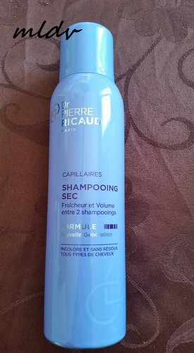 shampooing sec Pierre ricaud