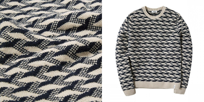 Finisterre men's fair isle crew